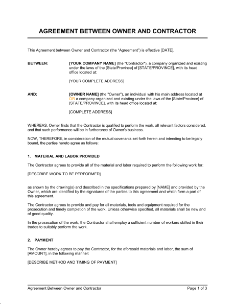 contract-agreement-templates