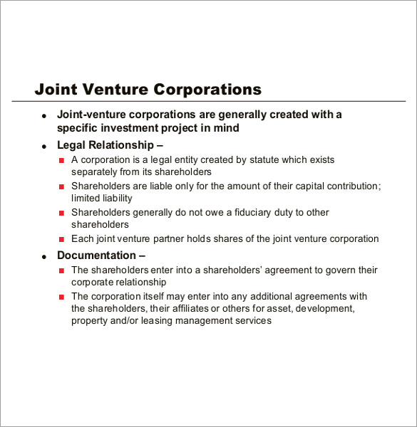 real-estate-joint-venture-agreement