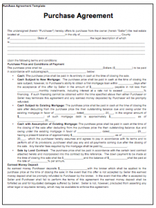 printable-2019-Purchase-Contract-Template