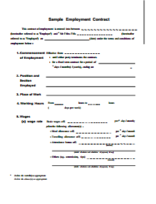printable-2019-employment-contract-template-1